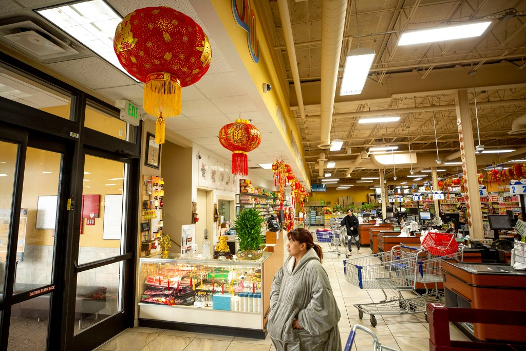 Pacific Ocean Marketplace in Athmar Park, Feb. 25, 2020. (Kevin J. Beaty/Denverite)