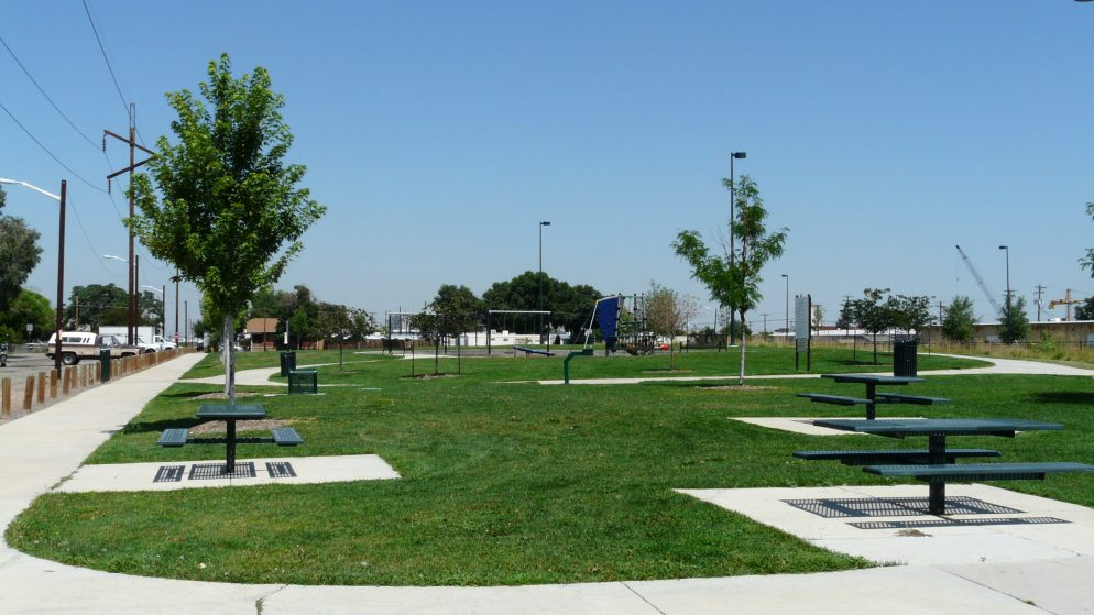 A picture of Swansea Neighborhood Park, soon to be Lorraine Granado Community Park. (Courtesy, Denver Parks and Recreation)
