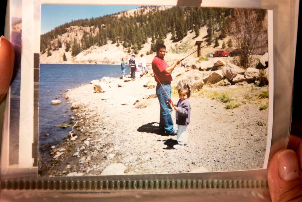 George Zaldivar and his stepdaughter, Yolanda. (Kevin J. Beaty/Denverite)