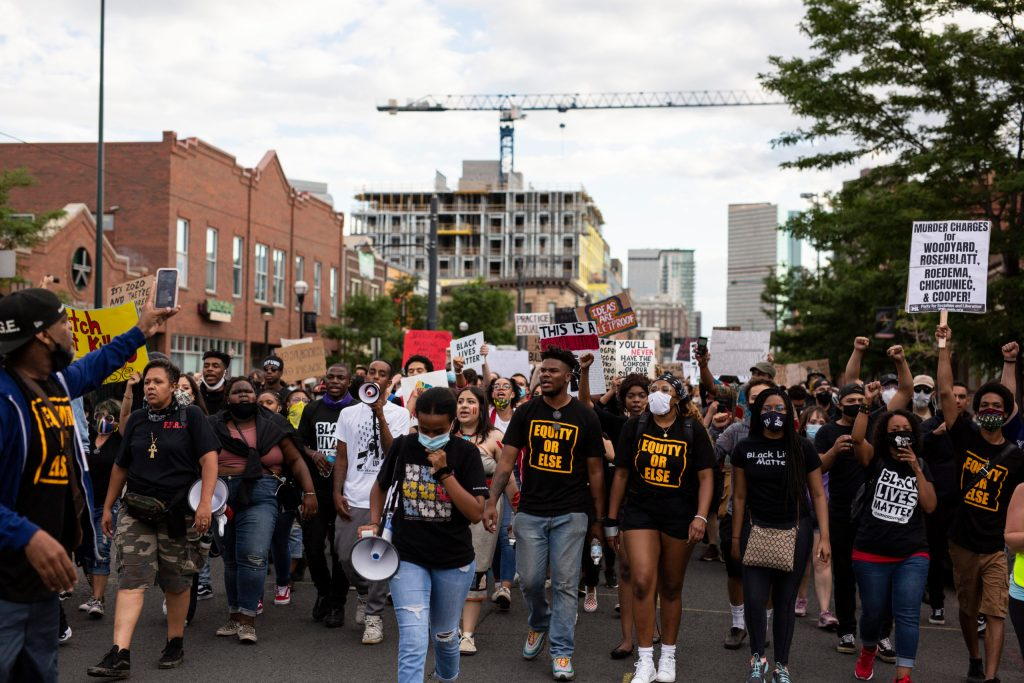 Fourth of July 'Rise Up' rally in Denver on July 4, 2020
