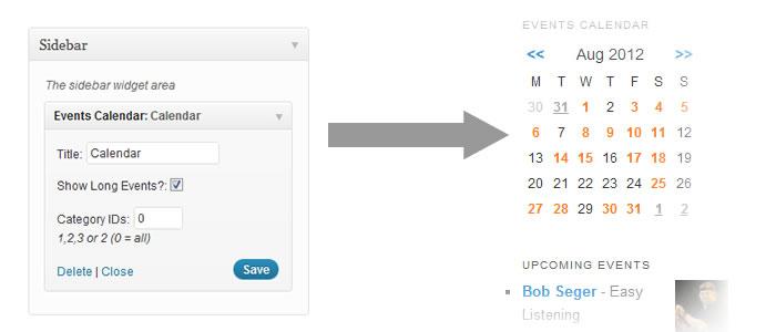using event calendars events