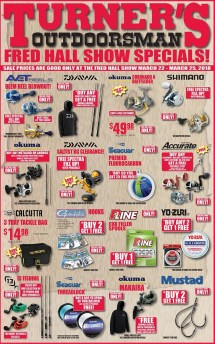 Turners Outdoorsman Weekly Ad Specials - Year of Clean Water