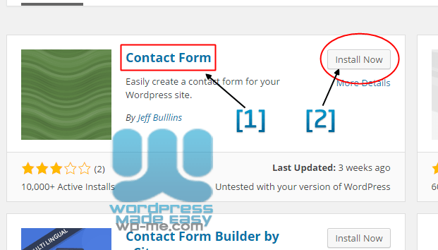 Install WordPress Plugin automatically - Install Plugin