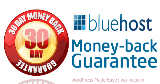 Bluehost's Money-back Guarantee