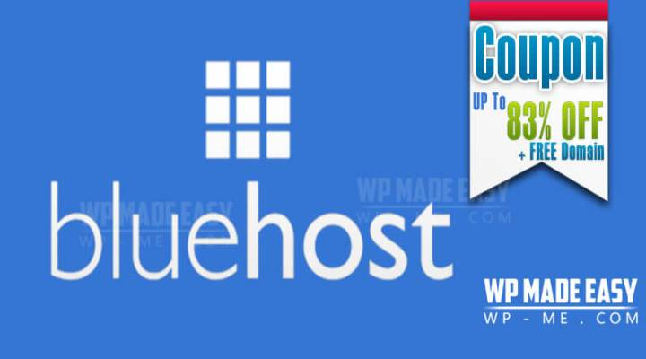 Bluehost Coupon Codes: Up to 83% OFF + Free Domain June 2016