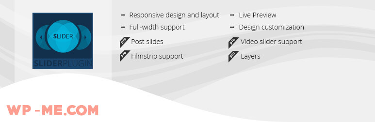 Slider WD ─ Free WordPress Slider Plugin