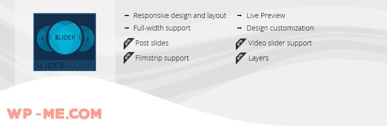 Slider WD ─ Free WordPress Slider Plugin