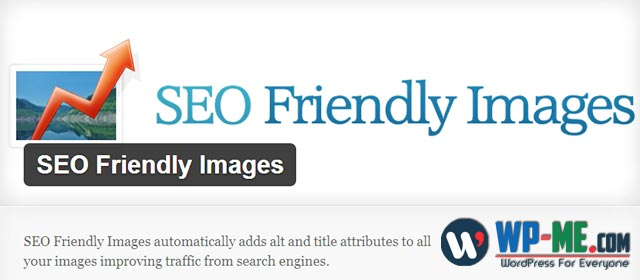SEO Friendly Images WordPress SEO plugin