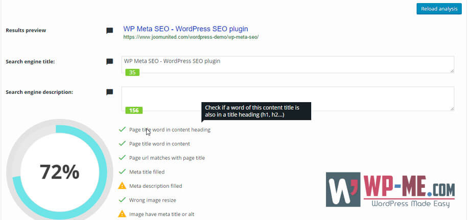 WP Meta SEO On-page SEO Optimizer