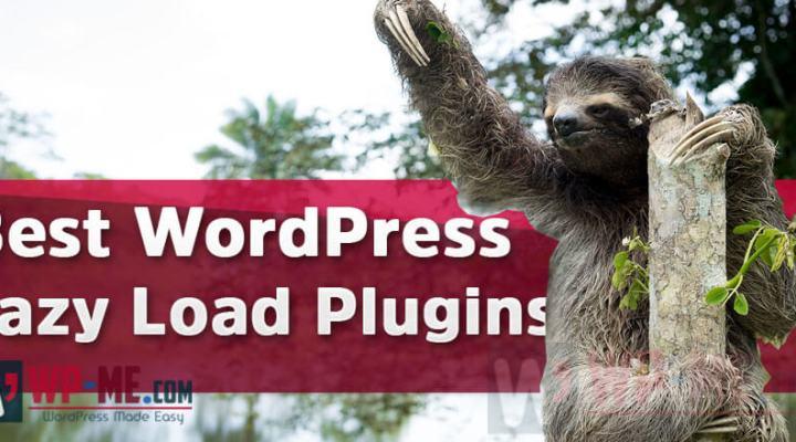 WordPress Lazy Load Plugins