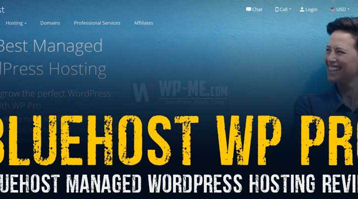 Bluehost WordPress Pro Hosting Review