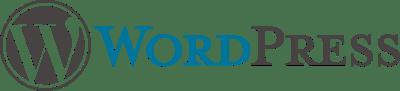 Start a blog - WordPress logo