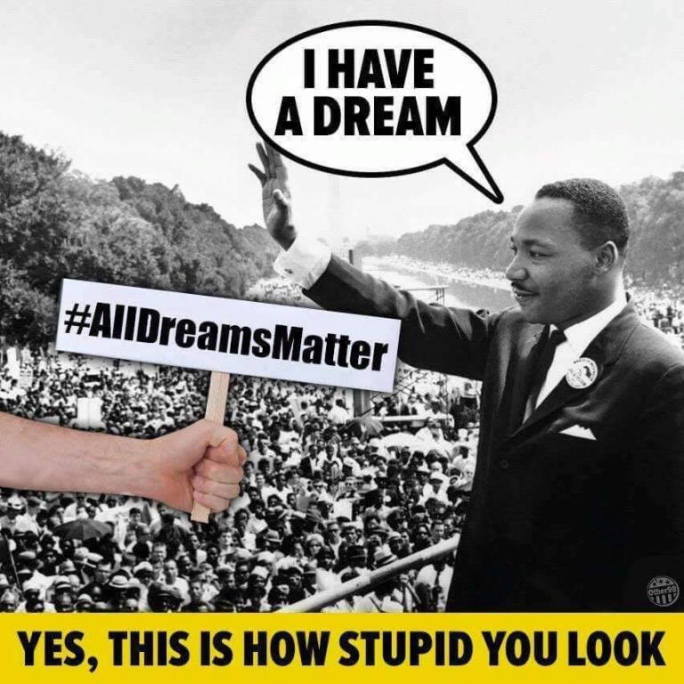 your black lives matter
