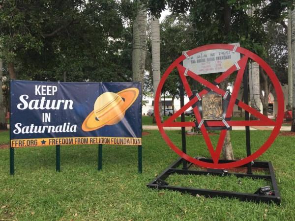 Satanic Display Boca Raton