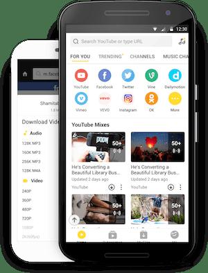 قم بالتعرف على تطبيق مجاني لتحميل الفيديو للأندرويد أفضل5