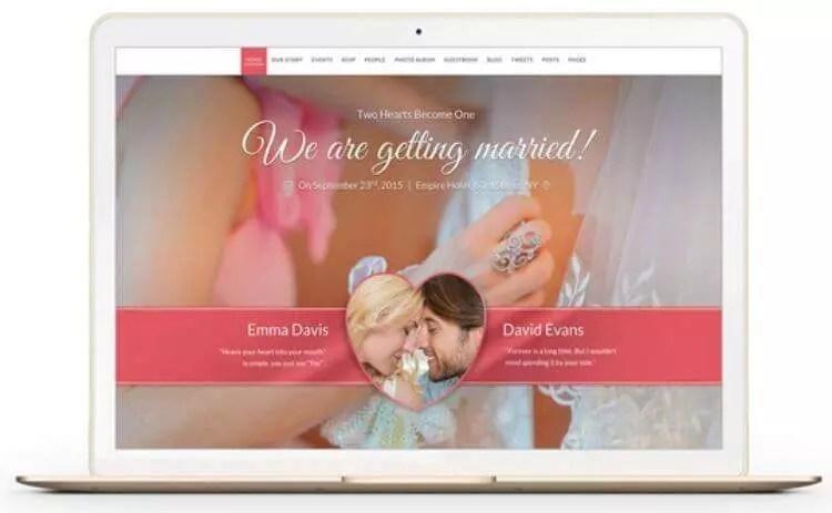 Hochzeitswebseite mit Wordpress erstellen  Say Yes