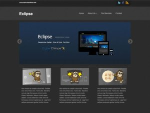 Eclipse WordPress theme