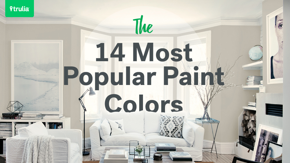 14 popular paint colors