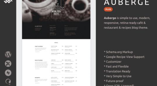 Fichiers de la traduction française du thème Auberge