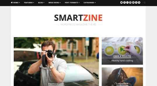 Fichiers .po et .mo de la traduction française du thème SmartZine de Theme Junkie