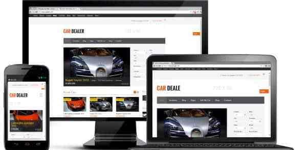 Traduction en français du thème de petites annonces automobiles CarDealer