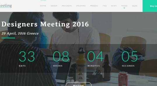 fichiers .po et .mo de la traduction française du thème Meeting de TeslaThemes