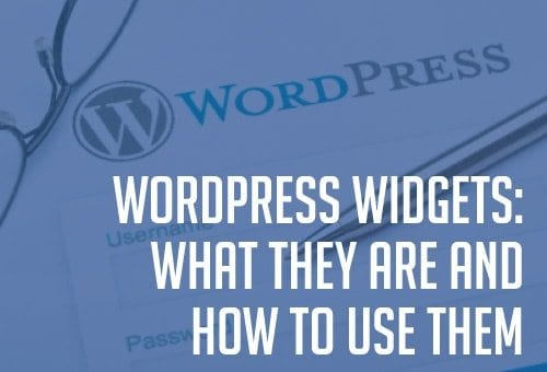 What are WordPress Widgets
