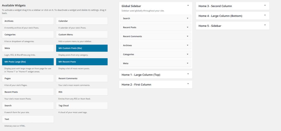WordPress Tutorial - Adding a Widget <a href=