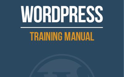 WordPress Tutoring PDF Manual Now Available
