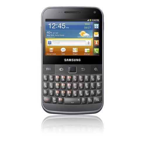 Samsung Galaxy R Galaxy W Galaxy Y Galaxy YPro e MPro ecco i nuovi prodotti Android