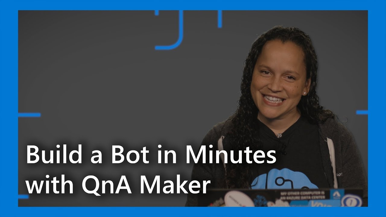 Build a Bot in Minutes with QnA Maker #TWiCognitive