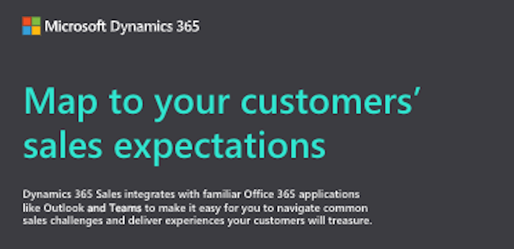 Map to Your Customers' Sales Expectation