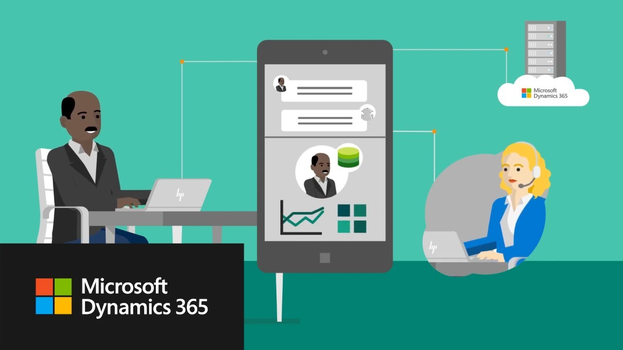 Connected Sales and Service with Microsoft Dynamics 365