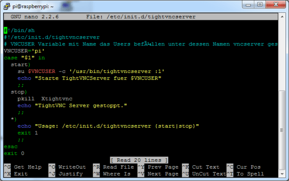 TightVNC Script