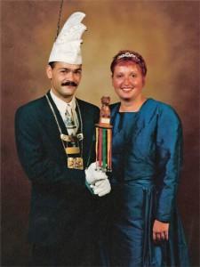 jim96 1997 Prins Jim I en Prinses Angelique