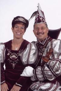 prinsenpaar2003 Prinses Carmen en Prins Marty