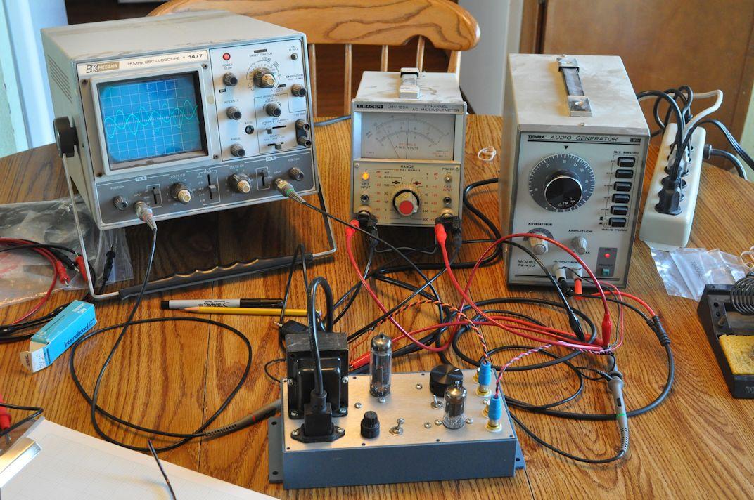 Oscilloscope Preamplifier Circuit Diagram Tradeoficcom