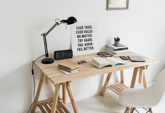 My very Minimal Interior Workplace Design