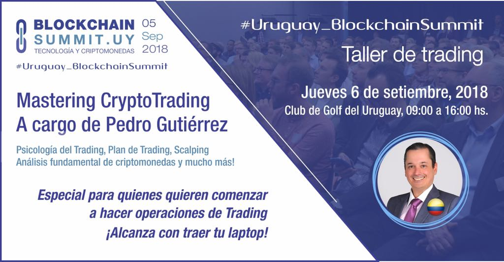 Taller de Trading en Montevideo: «Aprende a detectar señales de Cripto-Trading y multiplica tus Bitcoins!»