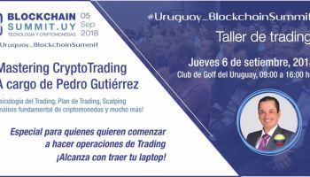 """Taller de Trading en Montevideo: """"Aprende a detectar señales de Cripto-Trading y multiplica tus Bitcoins!"""""""