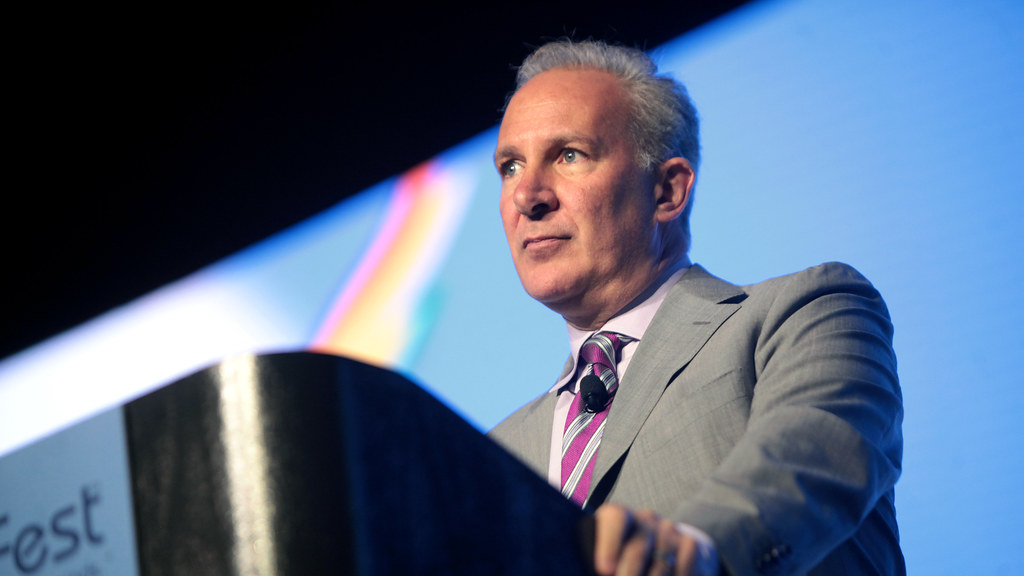 Bitcoin will never hit 50k says crypto skeptic Peter Schiff