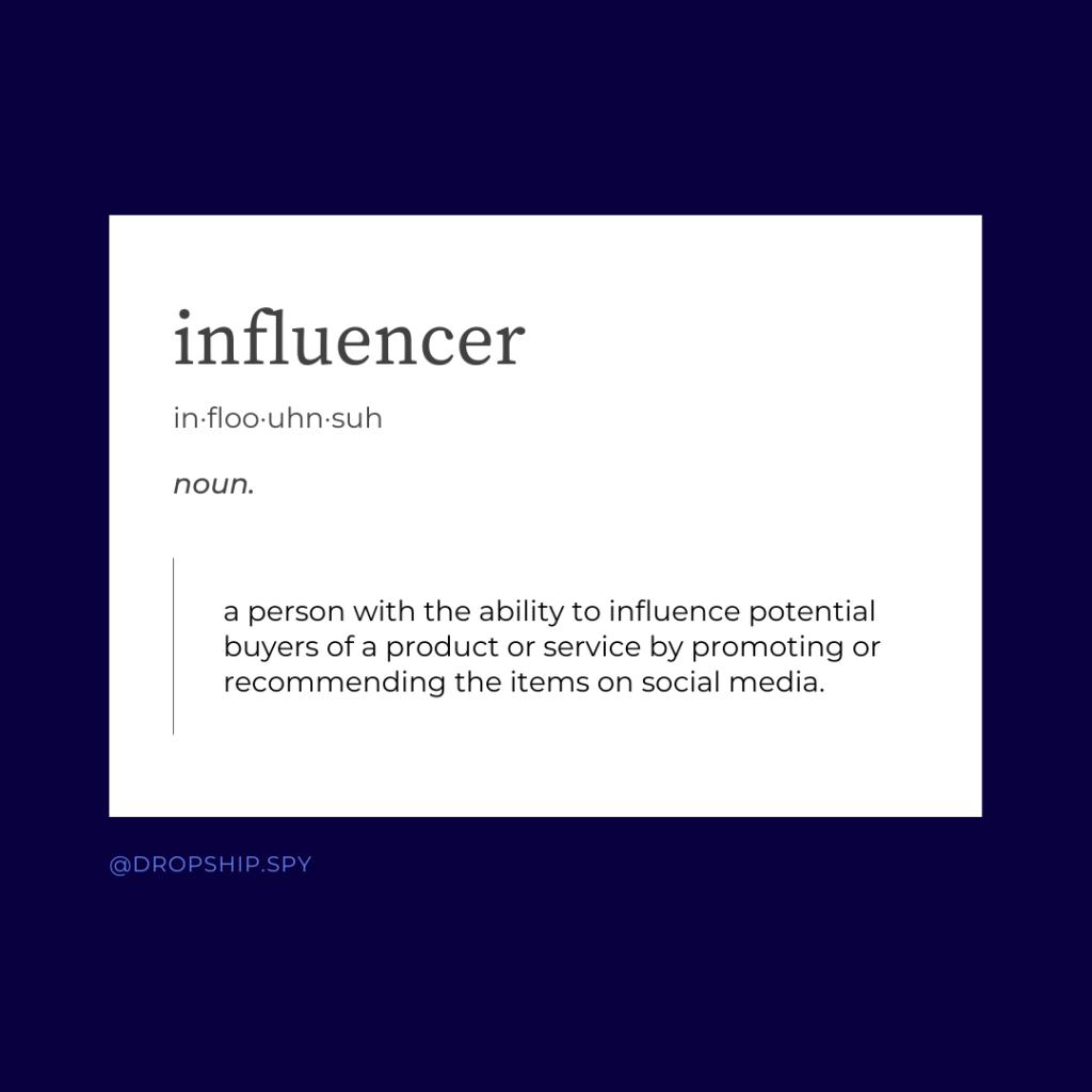 influencer definition
