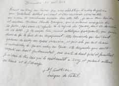 Dimanche 22 avril 2018 - Visite de Monseigneur Santier, Evêque de Créteil