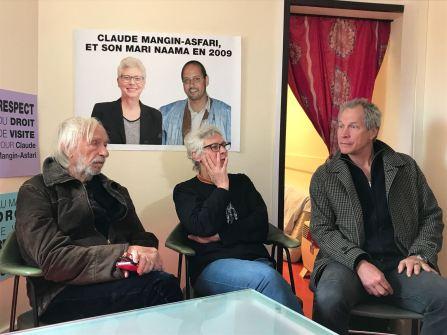 Visite de Pierre Richard, Acteur de la Comédie Française