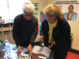 Visite Anissa Boumedien, Femme de l'ex-Président d'Algérie Hauari Boumedien