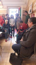 Femmes solidaires, Maitre Gilles Devers, Eva Tisseyre des Guides de France et Yanis Laribi