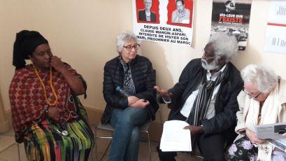 Gisèle Noubanche, Ligue Internationale des femmes pour la paix et la liberté fondée en 1915 et Mohamed Kaoamy, dirigeant du FRUD Djibouti