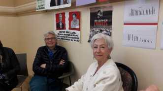 Claude et Bénédicte Tardy, ancienne présidente de l'ACAT