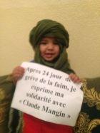 Solidarité exprimée au 24e jour de grève de la faim