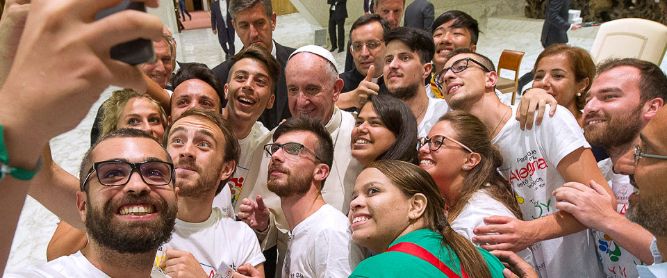 What would make God's call easier to hear and follow? Pope explains